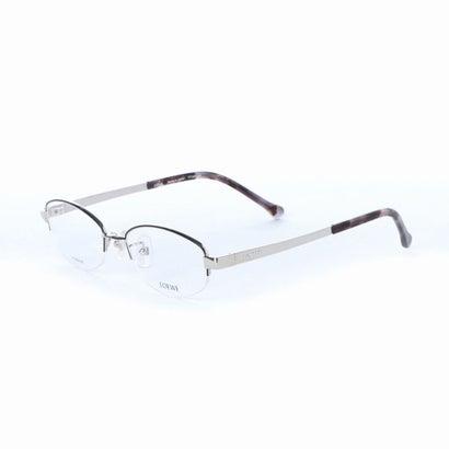 【アウトレット】ロエベ LOEWE メガネ 眼鏡 アイウェア レディース メンズ (シルバー)
