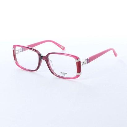 【アウトレット】ロエベ LOEWE メガネ 眼鏡 アイウェア レディース メンズ (ピンク)