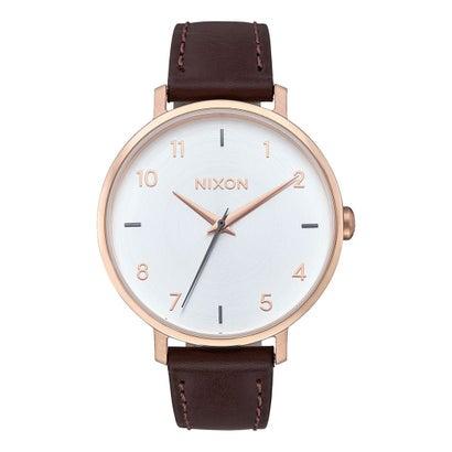 ニクソン NIXON Arrow Leather (Rose Gold / Silver)
