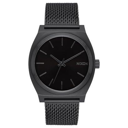 ニクソン NIXON Time Teller Milanese (All Black)
