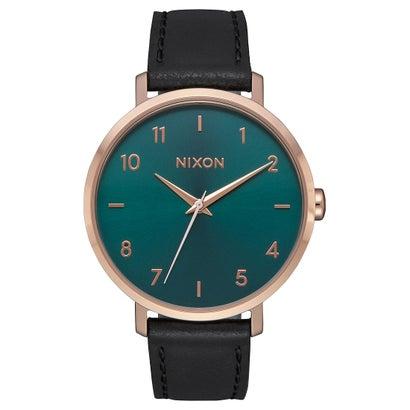 ニクソン NIXON Arrow Leather (Rose Gold / Emerald)