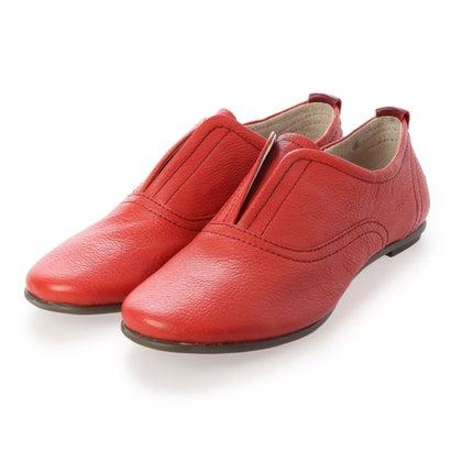 ヨーロッパコンフォートシューズ EU Comfort Shoes フラットシューズ (レッド)