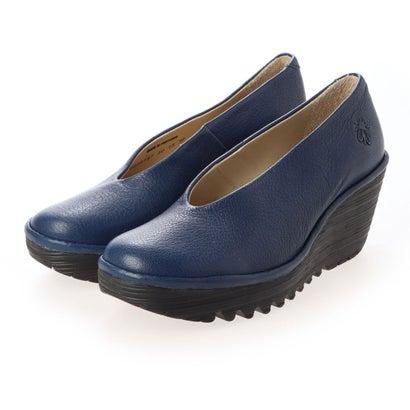 ヨーロッパコンフォートシューズ EU Comfort Shoes パンプス (ブルー)