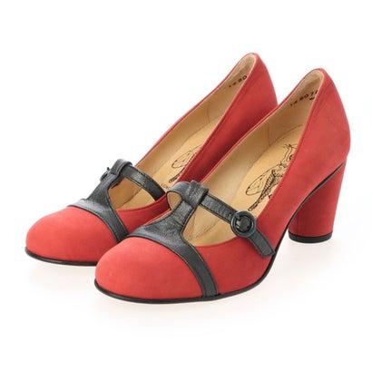 ヨーロッパコンフォートシューズ EU Comfort Shoes ドレスシューズ (レッド)