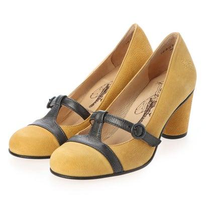 ヨーロッパコンフォートシューズ EU Comfort Shoes ドレスシューズ (イエロー)