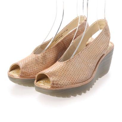 ヨーロッパコンフォートシューズ EU Comfort Shoes サンダルパンプス (ベージュ)