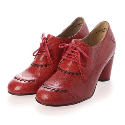 ヨーロッパコンフォートシューズ EU Comfort Shoes レースアップシューズ (レッド)
