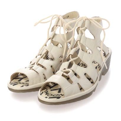 ヨーロッパコンフォートシューズ EU Comfort Shoes FLYLONDON サンダル (ホワイト)