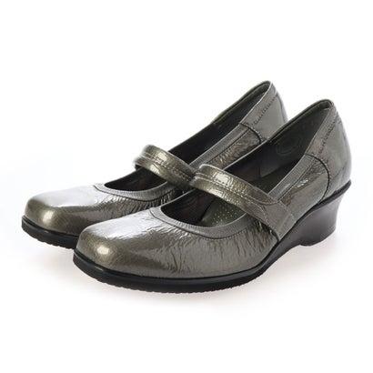 キクチノクツ 菊地の靴 ストラップパンプス 795-19 (DグレーE/)