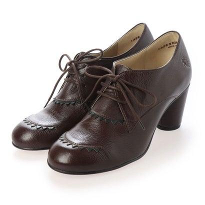 ヨーロッパコンフォートシューズ EU Comfort Shoes レースアップシューズ (ダークブラウン)