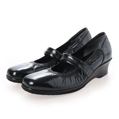 キクチノクツ 菊地の靴 ストラップパンプス 795-19 (クロE/)
