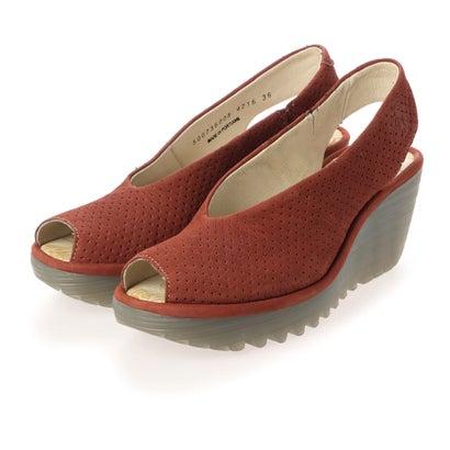 ヨーロッパコンフォートシューズ EU Comfort Shoes サンダルパンプス (レッド)