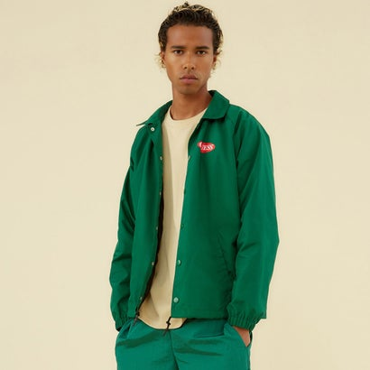 ゲス GUESS GUESS Originals Red Logo Coaches Jacket (OZARK GREEN)