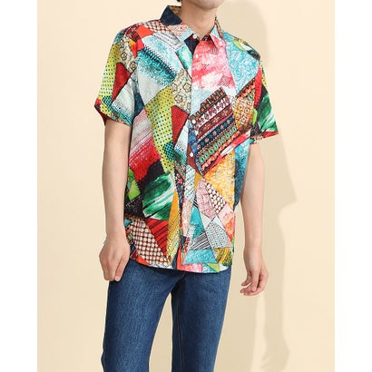 デシグアル Desigual シャツ半袖 SIMON (マルチ)