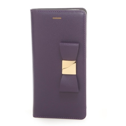 レイブロック LAYBLOCK iPhone6 Ribbon Classic Diary(パープル)
