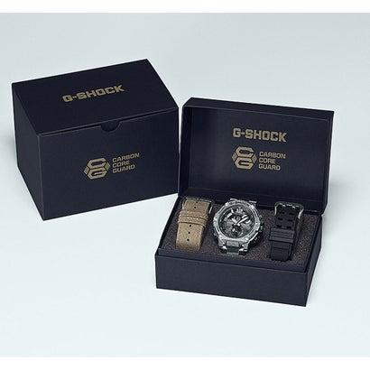 【G-SHOCK】G-STEEL(Gスチール) / ラギッドスタイル / スマートフォンリンク / GST-B300E-5AJR (ブラック×シルバー)