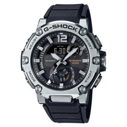 【G-SHOCK】G-STEEL(Gスチール) / ラギッドスタイル / スマートフォンリンク / GST-B300S-1AJF (ブラック×シルバー)