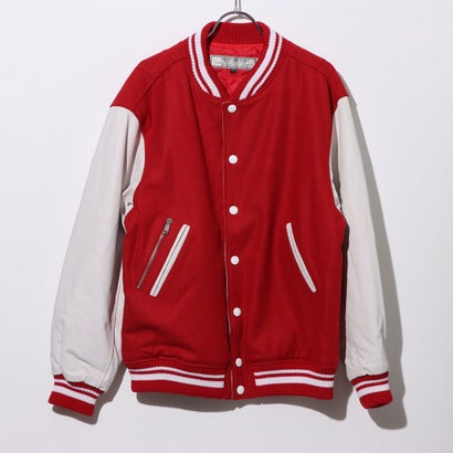 【アウトレット】ゲス GUESS GUESS Originals VARSITY JACKET (VARSITY RED MULTI)