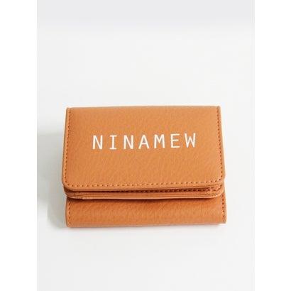 Ninamewロゴ折り畳み財布 (OR)