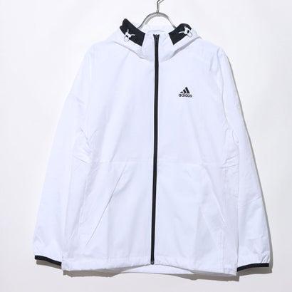 アディダス adidas メンズ ウインドフルジップ MMHウインドブレーカーCLEAN GF3976 (ホワイト)