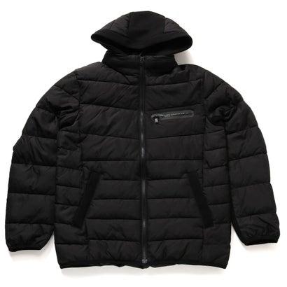 ゲス GUESS Hooded Padding Jacket (BLACK)