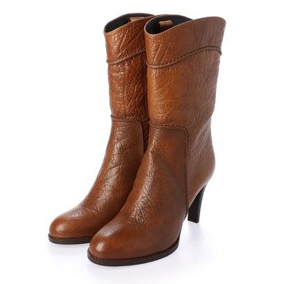 【アウトレット】シューズラウンジ shoes lounge 【本革】ロングブーツ 2374014C (キャメル)