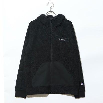 チャンピオン Champion メンズ フリースジャケット ZIP HOODED JACKET C3-SS612 (ブラック)