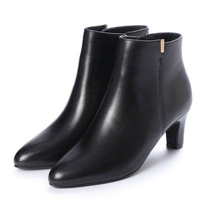 あす楽 交換 返品可能 新作からSALEアイテム等お得な商品満載 ピエディヌーディ PIEDI NUDI レディースシューズ お買い得 本革 ロコンド ブーティ BLK シンプルショートブーツ ブーツ