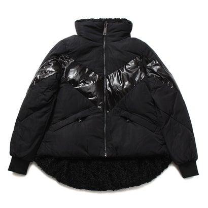 満点の ゲス GUESS Orietta ゲス Padded BLACK) Reversible Jacket Jacket (JET BLACK), 酒の茶碗屋:206bac17 --- delipanzapatoca.com