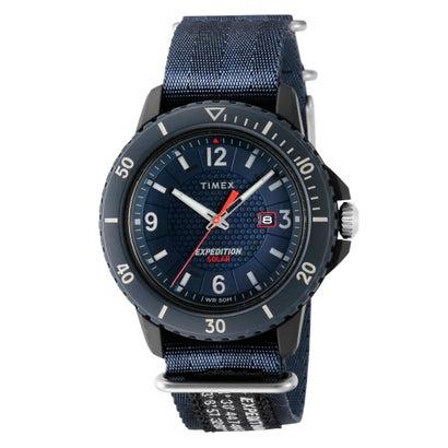(ブルー) タイメックス TIMEX ガラティンソーラー