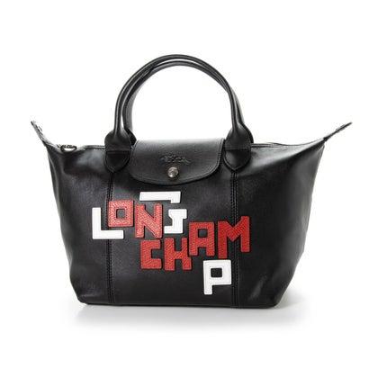 あす楽 交換 返品可能 ロンシャン LONGCHAMP レディースバッグ トートバッグ LGP LE ロコンド PLIAGE CUIR BLACK 新作 ファッション通販