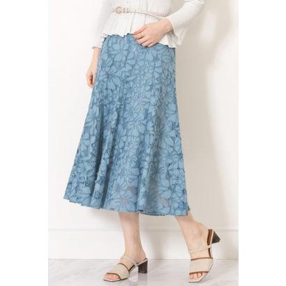 【新品】 ◆シェリーレーススカート BLUE, 酒の店神興 b604d65b