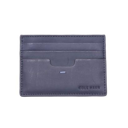 あす楽 交換 返品可能 コール ハーン COLE HAAN 財布 ケース 小物 マリタイム ブルー ファクトリーアウトレット カードケース ロコンド mens カード ソイヤー パスケース 高い素材 キー