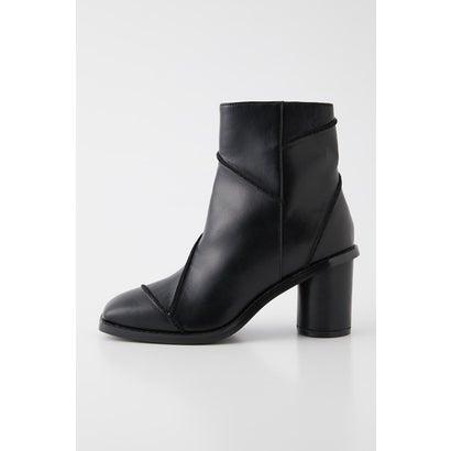 あす楽 交換 返品可能 ラグアジェム メーカー公式 ついに再販開始 LAGUA GEM レディースシューズ ブーツ ロコンド ブーティ SHORT BOOTS SWITCHING BLK