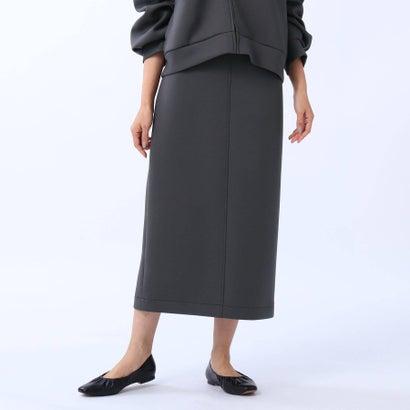 お気に入り 返品可能 アンタイトル UNTITLED 日本未発売 レディースアパレル スカート L ロコンド ディープグレー ダンボールタイトスカート