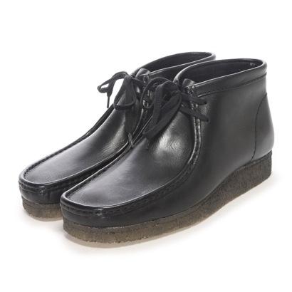 Wallabee Boot / メンズ ワラビーブーツ (ブラックレザー)