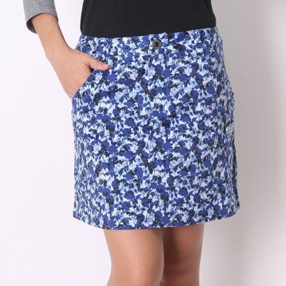 【アウトレット】カッパ Kappa ゴルフキュロットスカート カーゴスカート(花柄) KG562SK62 ブルー (ブルー)