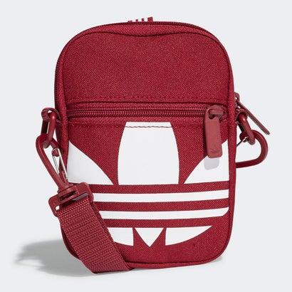 あす楽 販売 交換 直営限定アウトレット 返品可能 アディダス adidas メンズバッグ FEST レッド TREF BAG ショルダーバッグ ロコンド