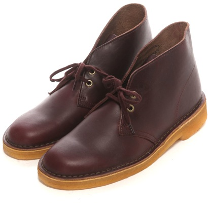 Clarks Clarks desert boots (wine leather)