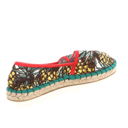 titibeito titivate麻底帆布鞋黄麻鞋(菠萝)