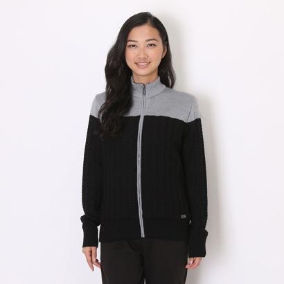 カルバン クライン Calvin Klein ゴルフセーター セーター/カーデイガン CKL4014 (ブラック)