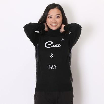 【アウトレット】ルコックスポルティフ le coq sportif ゴルフセーター QGL4141 (ブラック)