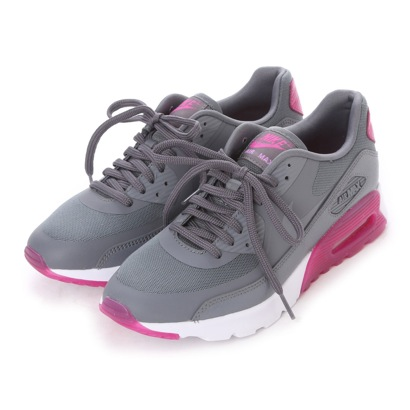 【アウトレット】ナイキ NIKE atomos NIKE W AIR MAX 90 ULTRA ESSENTIAL (COOL GREY/COOL GREY-FUCSIA FLASH)
