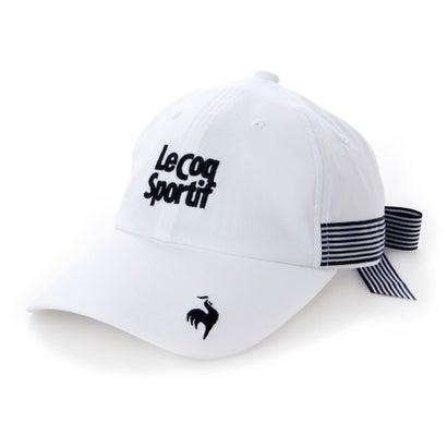 【あす楽】【交換・返品可能】/ルコックゴルフ/le coq GOLF/ゴルフ/ゴルフウェア/ロコンド/ ルコックゴルフ le coq GOLF レディース ゴルフ キャップ ボウシ QGCSJC01W (ホワイト)