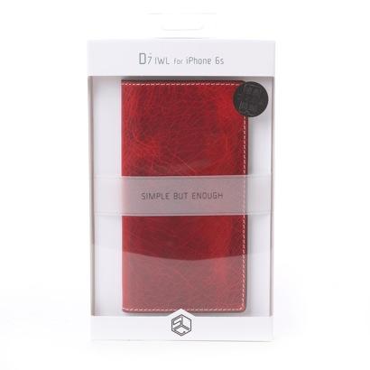 エスエルジーデザイン SLG Design iPhone6s/6 Badalassi Wax case(レッド)