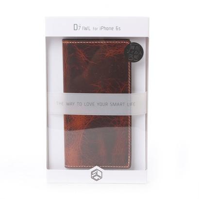 エスエルジーデザイン SLG Design iPhone6s/6 Badalassi Wax case(ブラウン)