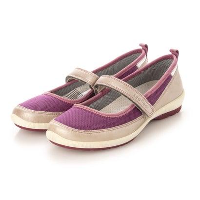 あす楽 交換 返品可能 ヨーロッパコンフォートシューズ EU Comfort Shoes カジュアルシューズ レディースシューズ パープル フラットシューズ ロコンド アウトレット オンラインショップ 正規販売店 モカシン