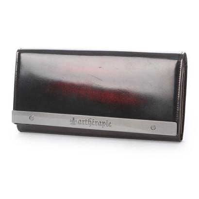 アルセラピィ artherapie ATメタルプレートアドバン かぶせ長財布 (ボルドー)