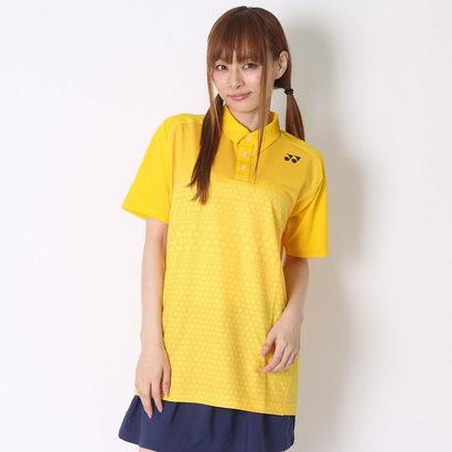 ヨネックス YONEX テニス用ポロシャツ ポロシャツ(スリムタイプ) 12123 イエロー (コーンイエロー)