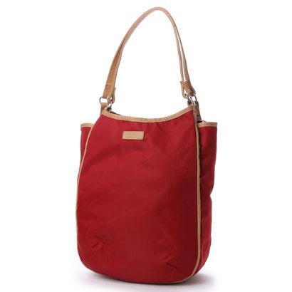 【アウトレット】イザック YSACCS スワロフスキー付き トートバッグ Mサイズ (RED)